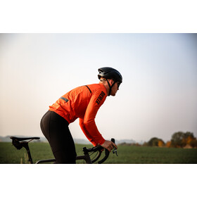Biehler Signature Stowaway Windbreaker Herre black/red
